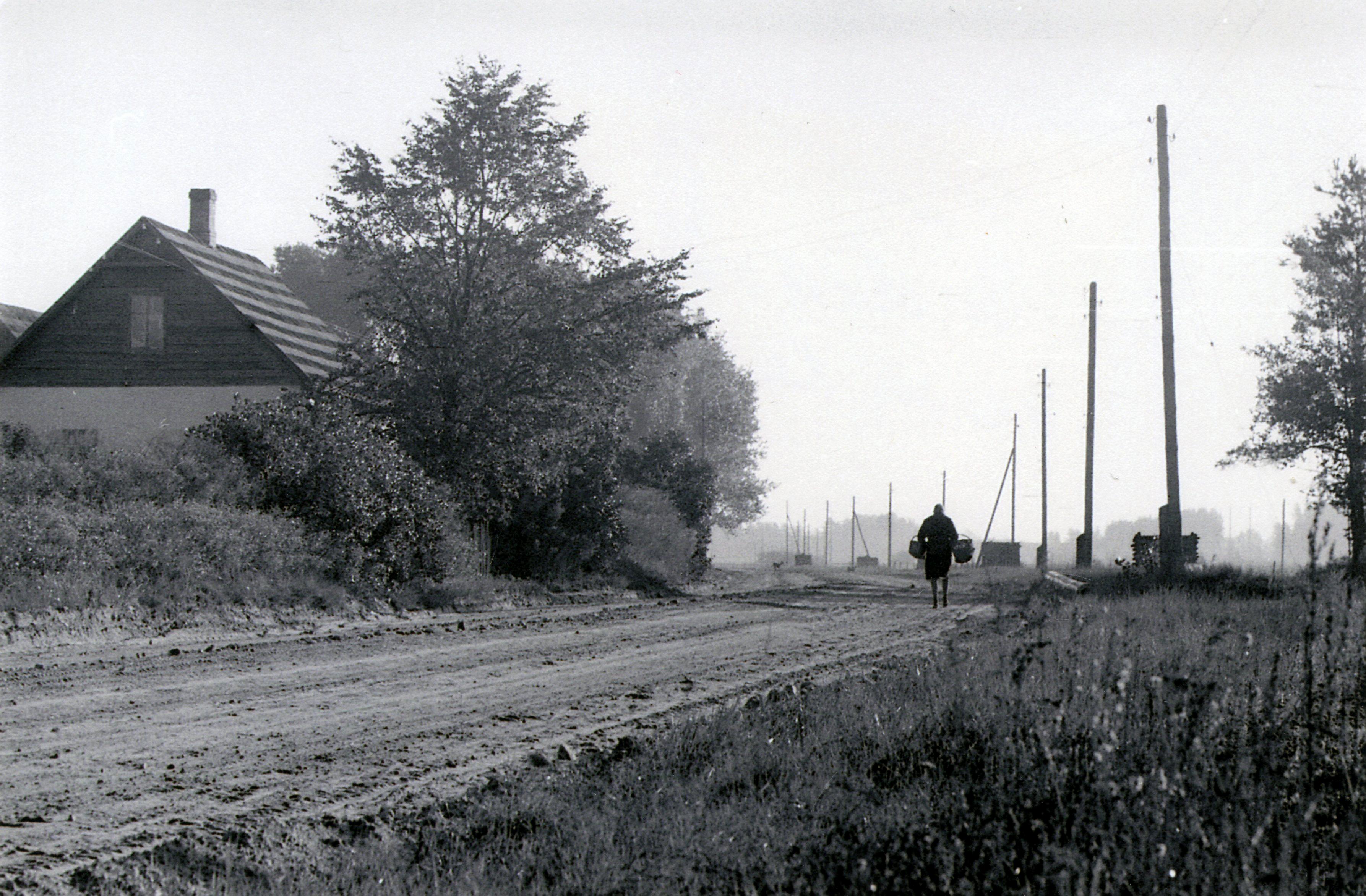 Indrāni – Kalseru dzimtas trešā atzara māja. 20. gs. 60. gadi. K. Kalsera arh.