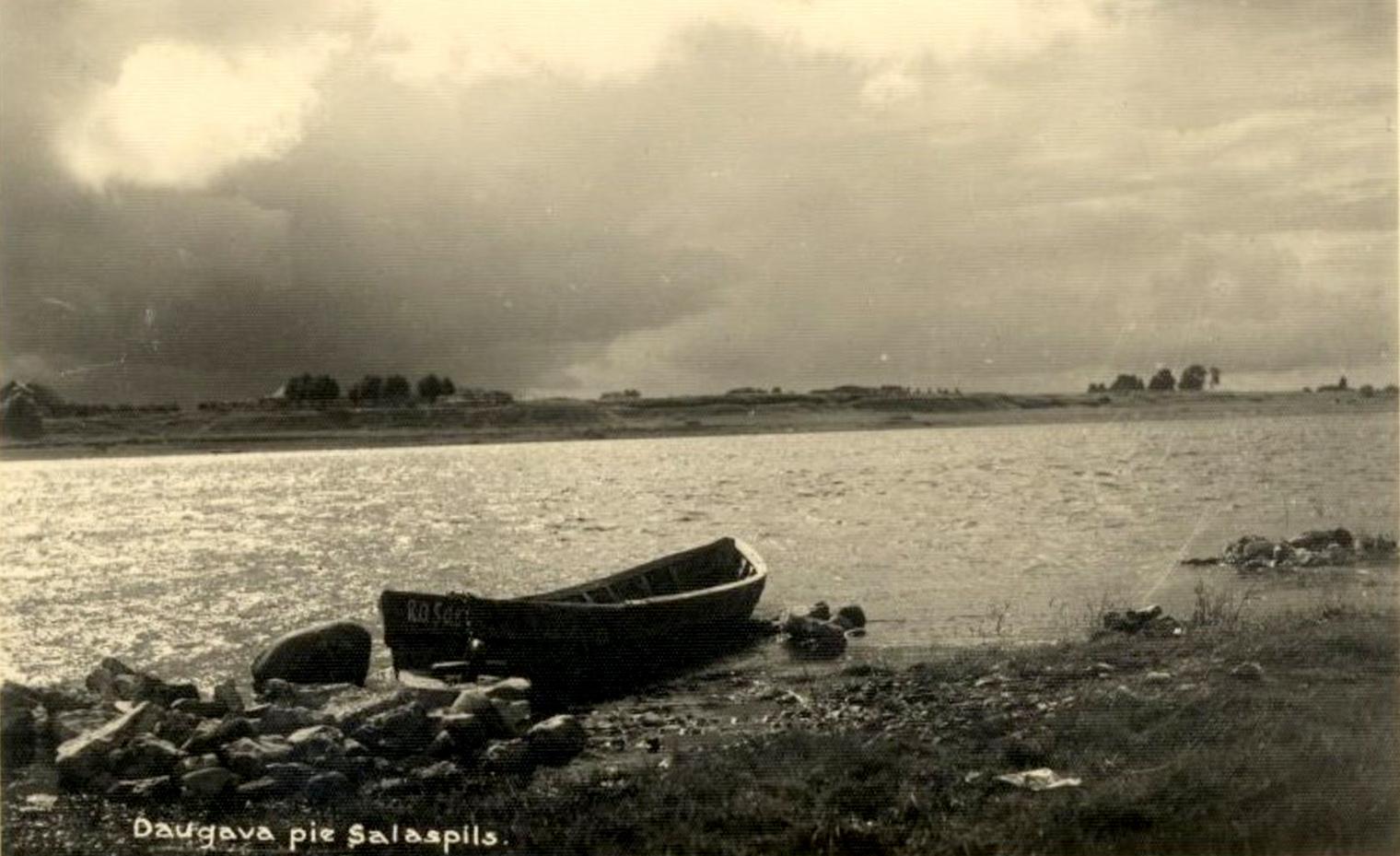 Salaspils pagasts. Daugava pie Salaspils